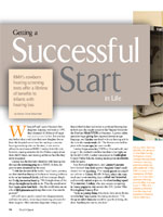 Getting a Successful Start RMH's Newborn Hearing Screening Tests