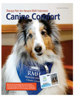 Canine Comfort Therapy Pets Are Newest RMH Volunteers