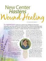 New Center Hastens Wound Healing