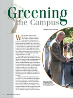 Greening The Campus