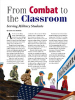 From Combat to the Classroom Serving Military Students