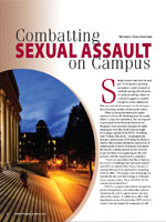 Combatting Sexual Assault on Campus