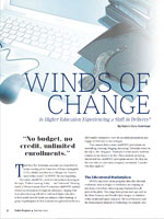 Winds of Change Is Higher Education Experiencing a Shift in Delivery?