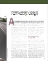 Foreign Language Learning at Community Colleges