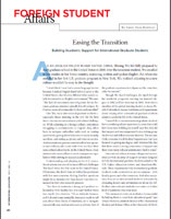 Easing the Transition Building Academic Support for International Graduate Students