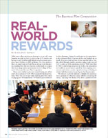 Real-World Rewards The Business Plan Competition