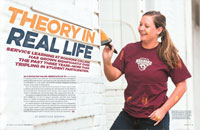 Theory In Real Life Service Learning at Roanoke College