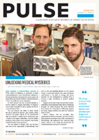 Pulse - Spring 2014 Unlocking Medical Mysteries